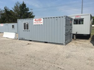 Learn about the benefits of renting a storage container vs. self-storage.