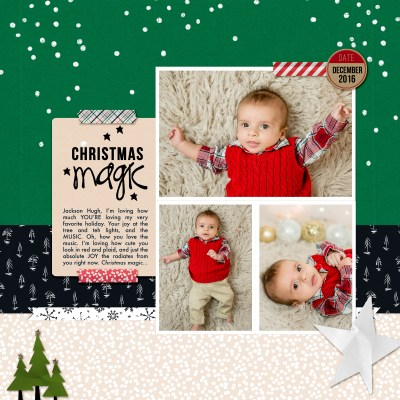 Layout | Christmas Magic