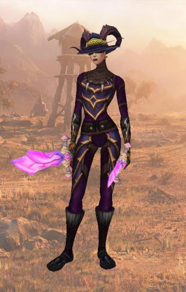 Aleveria: Eggplant Purple