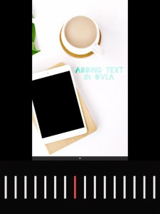 5 apps for gorgeous Pinterest graphics - text blend screen in OVLA
