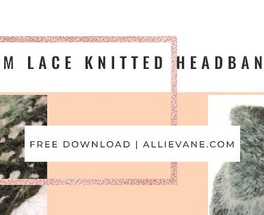 Download this beginner-friendly free knitting pattern for a gorgeous gift.