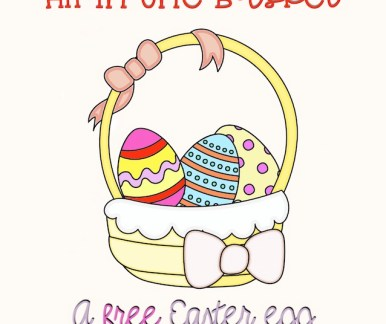 All In One Basket Easter coloring freebie