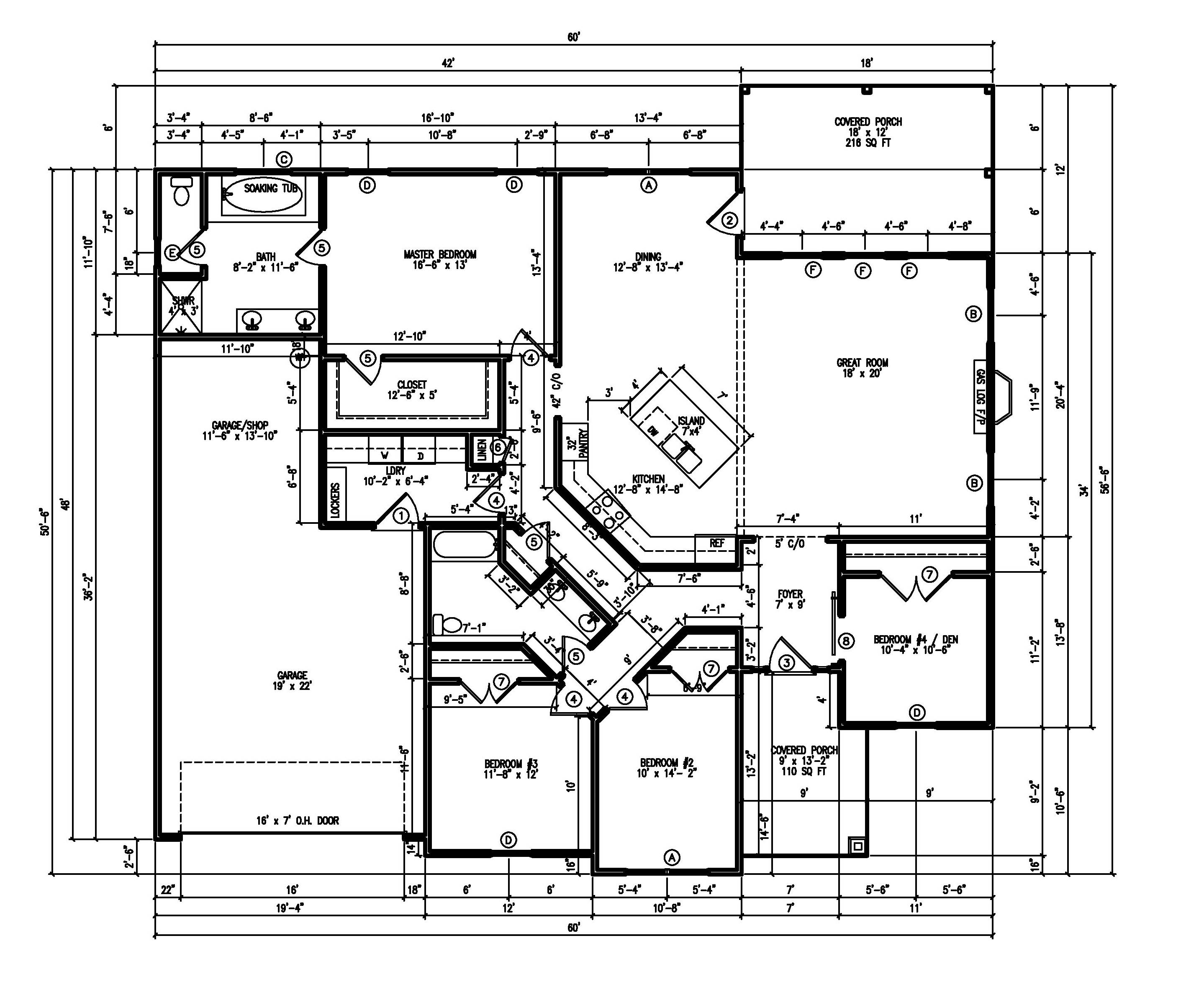 house plans layout (1 of 1)