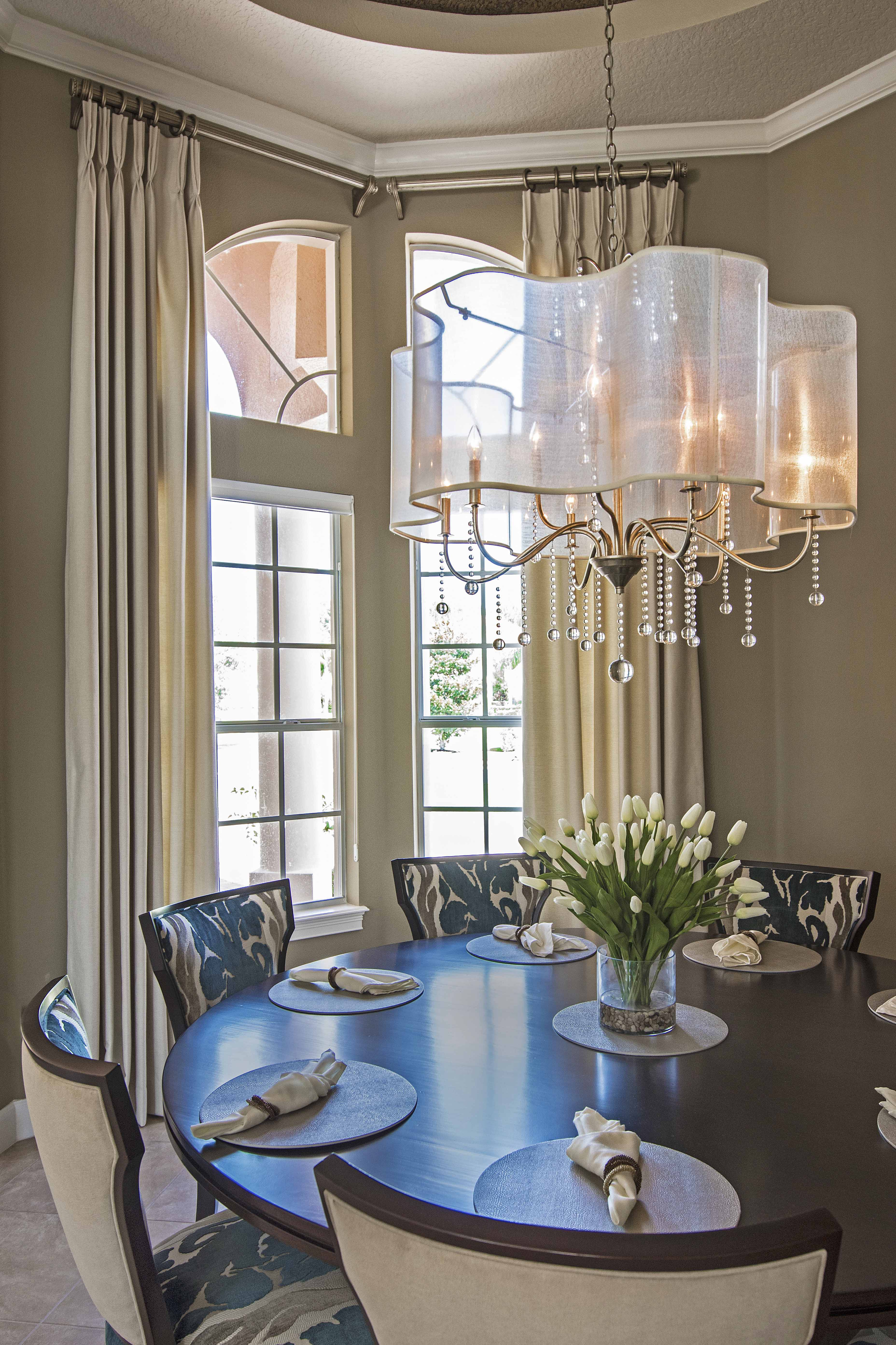Blue Transitional Home