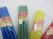 Color Stick Candles