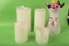 Aoyin Ivory Pillar Candle