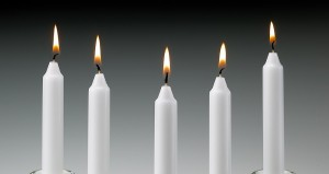 Household White Candle