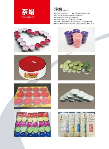 tea light candle introduce1