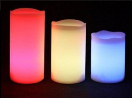 Wax LED Pillar Candle