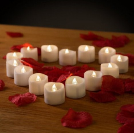 Short Plastic led candle