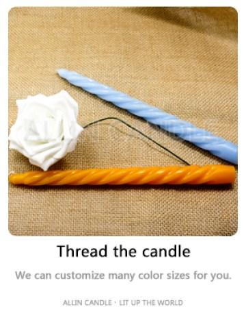 thread candles