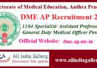 DME AP GDMO Recruitment