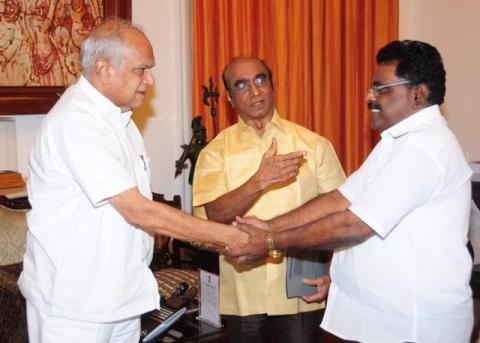 With TN Governor Brohit 2