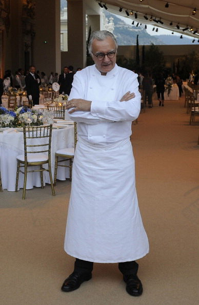 French chef Alain Ducasse poses at the O