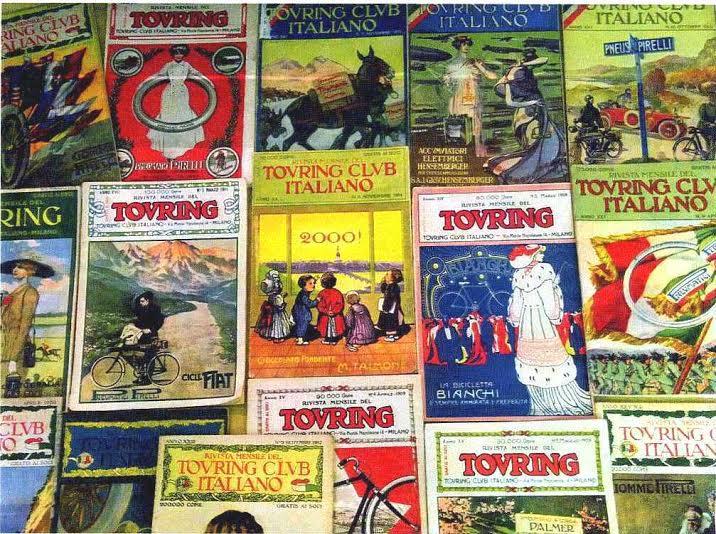 copertine rivista TCI