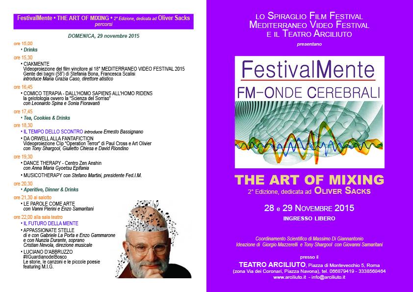 FestivalMente-Programma