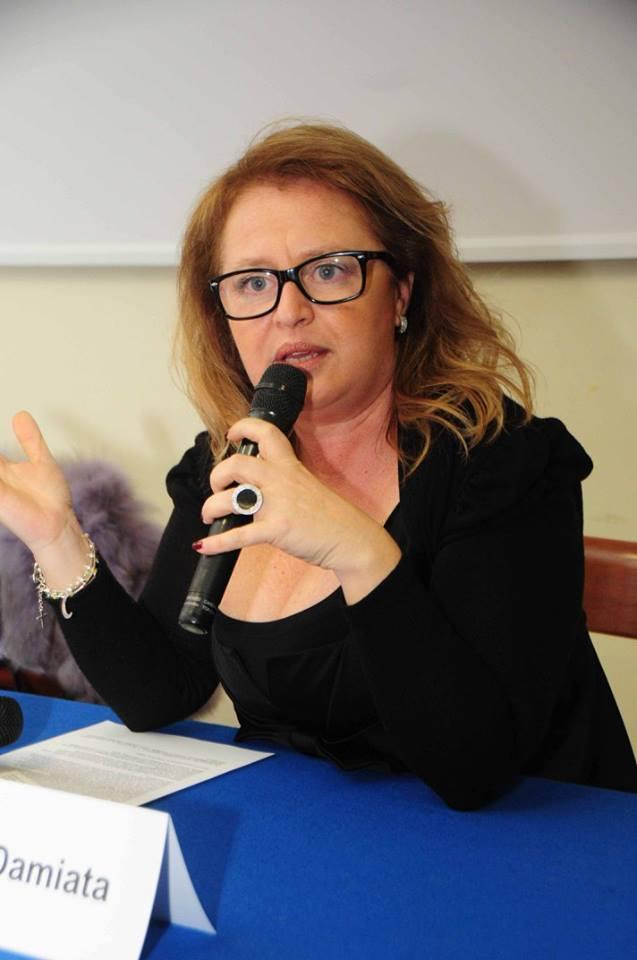 Roberta Damiata in uno scatto di Luigi Giordani