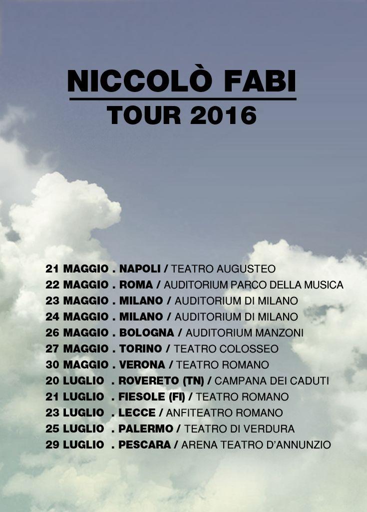 Tour 2016