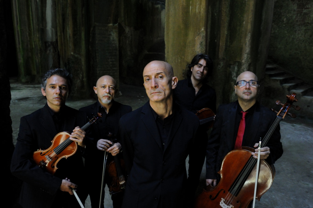 Foto Peppe Servillo e Solis String Quartet