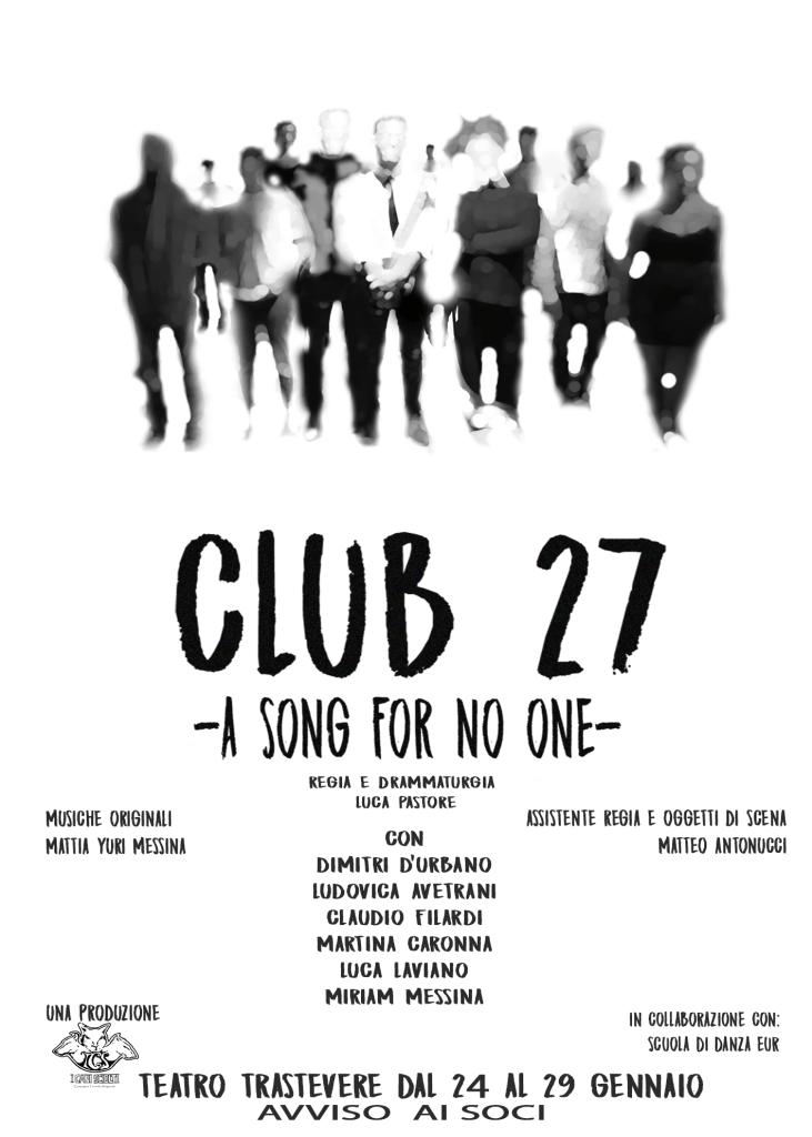 Locandina CLUB 27