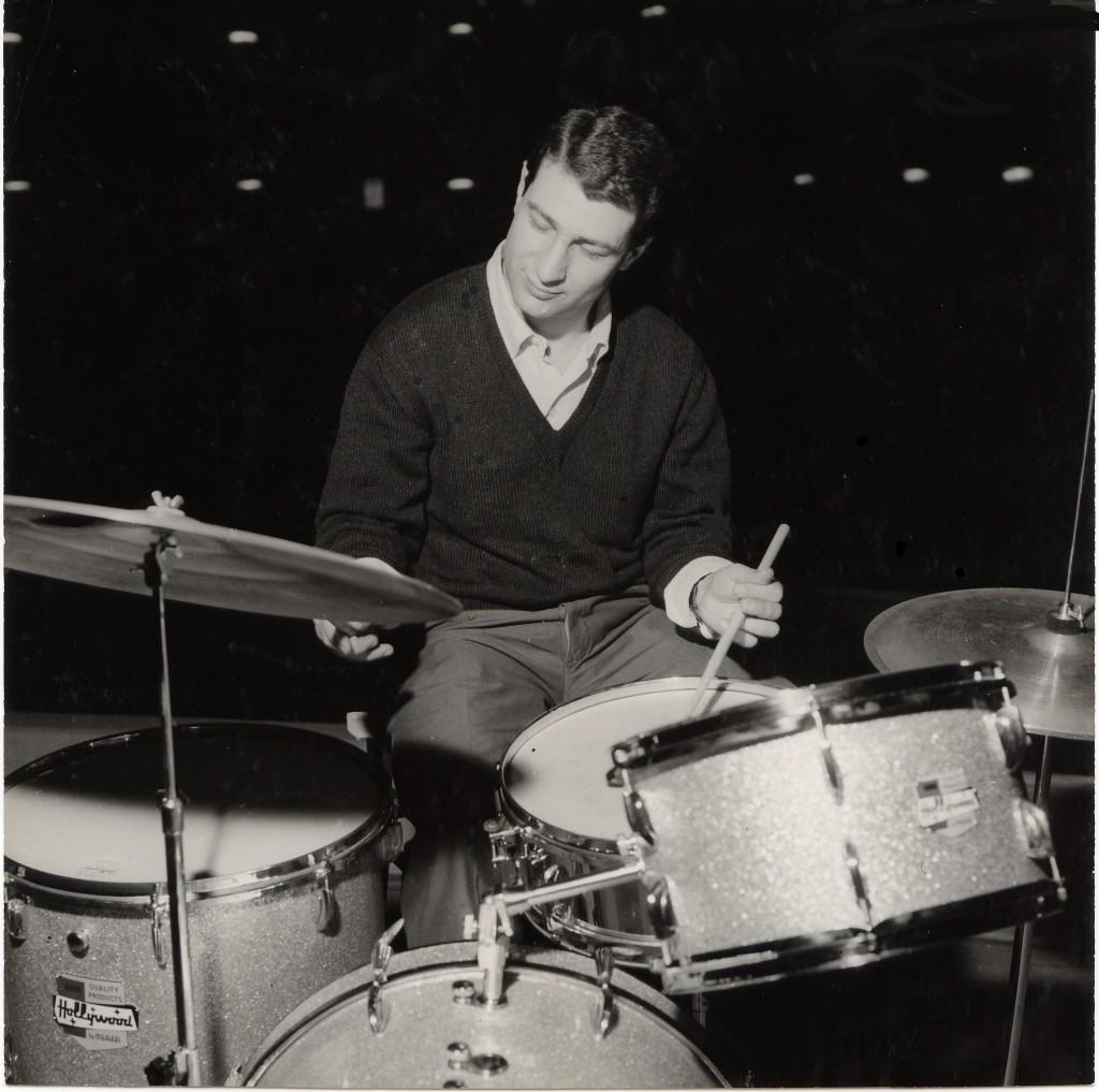 Pierino Munari alla batteria