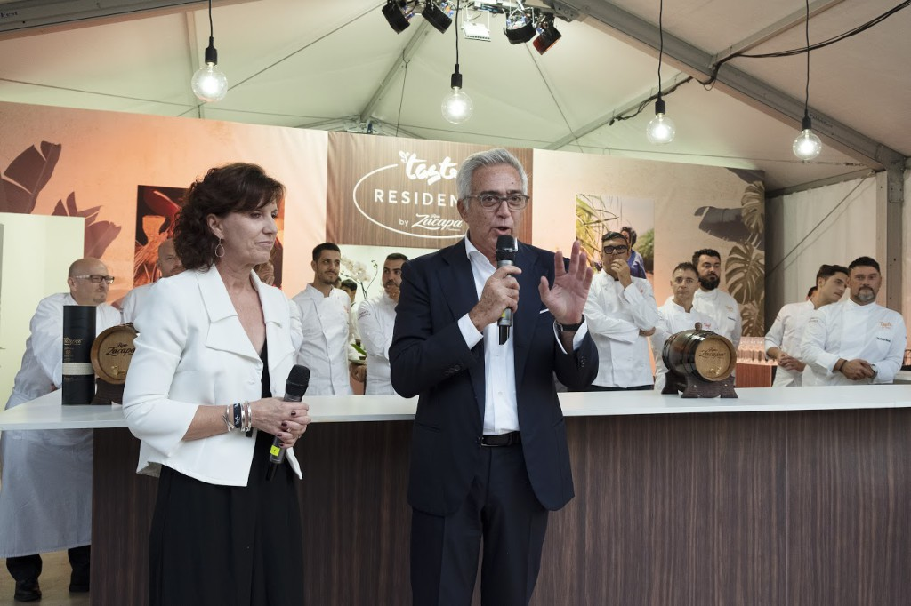 Sheryl Yasger, Vice President DCI e Giglio Del Borgo, CEO Diners Club Italia