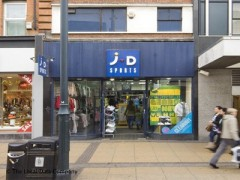 J D Sports 40 South Street Romford Sports Goods Shops