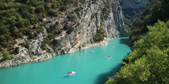 Les Gorges du Verdon; fabelachtig mooi stukje Frankrijk - AllinMam.com