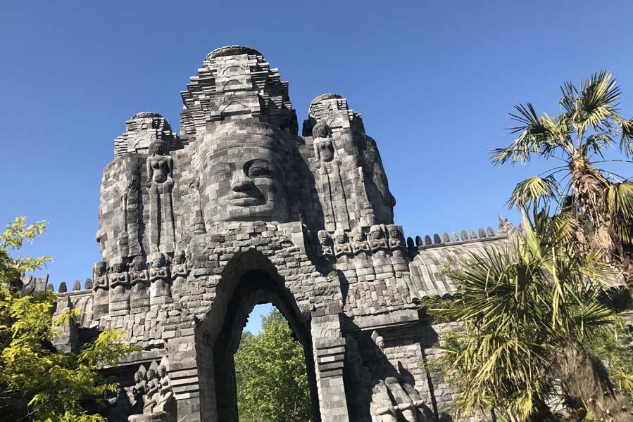 La Royaume de Ganesha - Het koninkrijk van Ganesha - Pairi Daiza tijgertempel - AllinMam.com