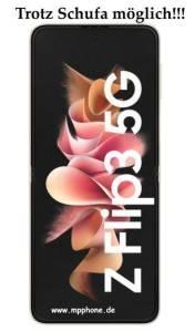 Samsung Galaxy ZFlip3 5G trotz Schufa