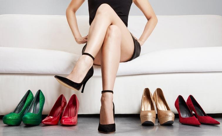 Women Wear High Heels