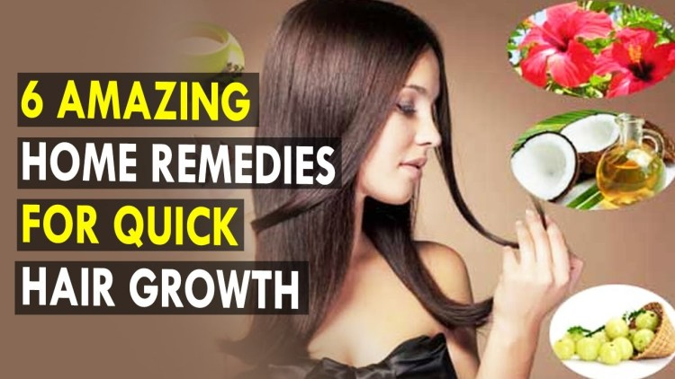 Home Remedies for Quick Growth of Hair