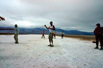 Hula Hooping at Badwater