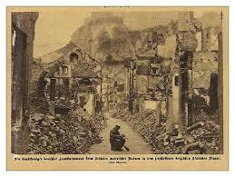 The Village of Dinant, Belgium, August, 1914