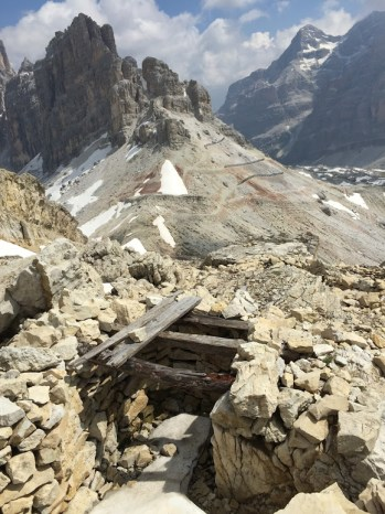 Dolomite Trenches