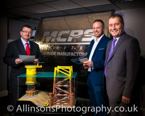 MCPS south shields off shore business with NatWest and PR Photographer from Allinsons