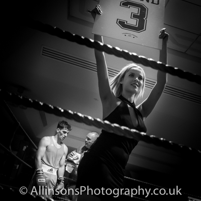 Boxing sports photography