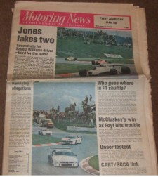Motoring News cover 1979 August 16 Austrian GP