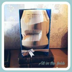 Sewing machine book folding pattern