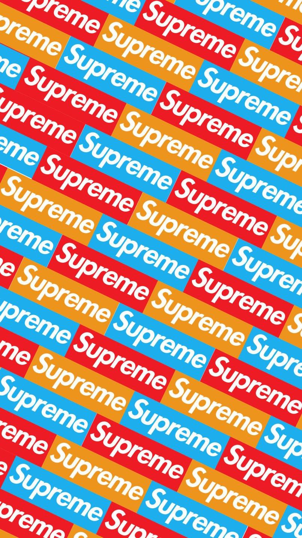 Supreme Wallpaper Hd Iphone 5s Djiwallpaper Co