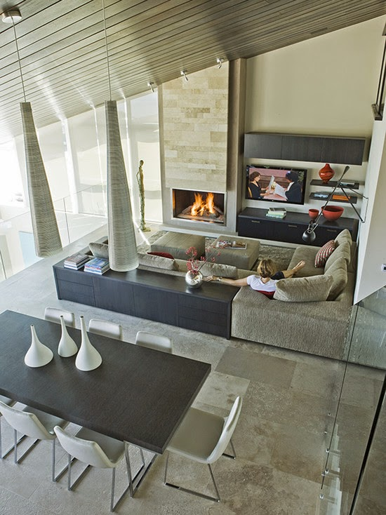 Three Arch Bay Residence Family Room (Los Angeles)