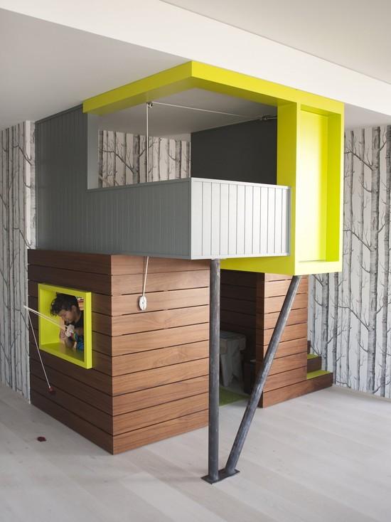 Bohemian Apartment Indoor Playhouse (New York)