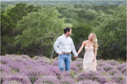 Rancho Mirando Lavender Field Engagement Session New Braunfels Texas Wedding Photographer_0001