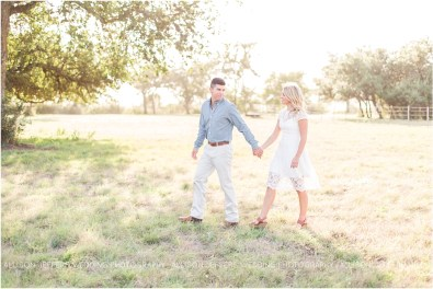 Boerne Texas Hill Country Engagement Session With Pet Dog_0006