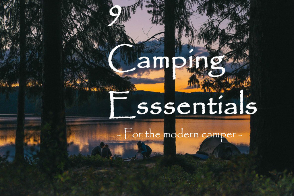 9 camping essentials
