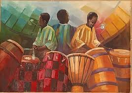 African Drummers Rythm