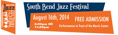 South Bend Jazz Festival logo 2014