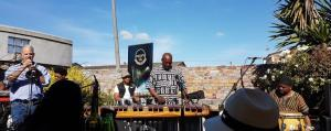 Bongani Sotshonanda, marimba band with Willie Haubrick