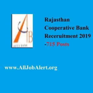 rajasthan co operative bank recruitment