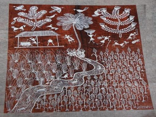 Warli Painting HCMHWP001G